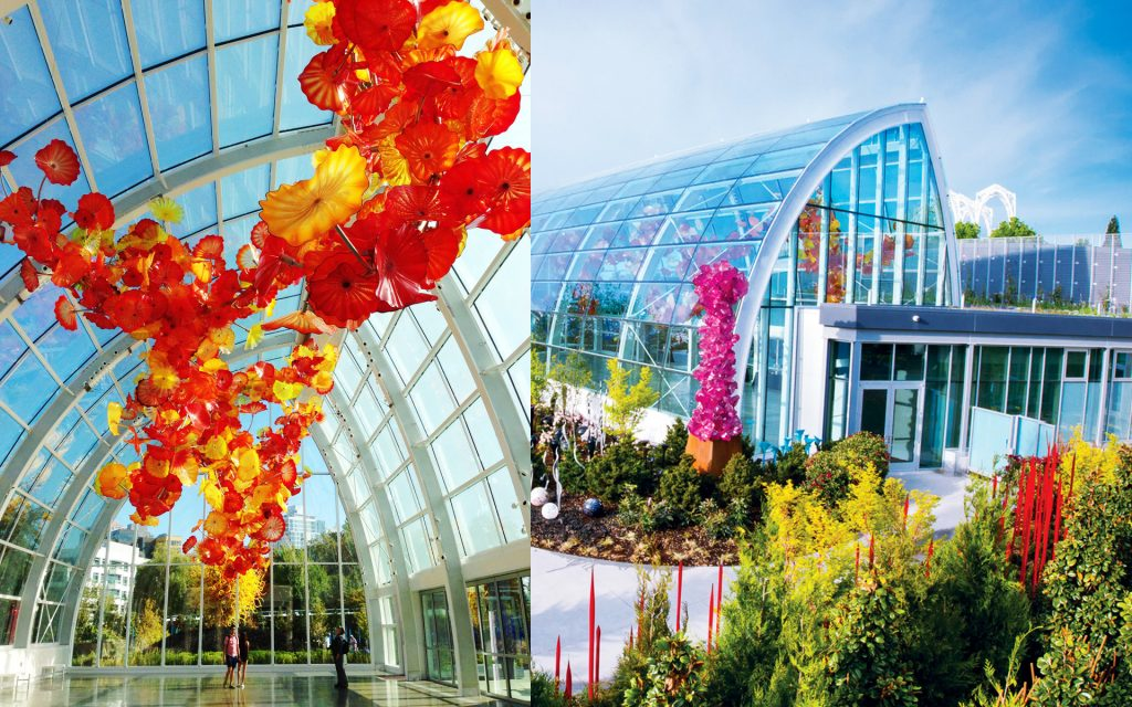 Chihuly Garden and Glassexhibit